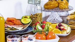 A fruit breakfast