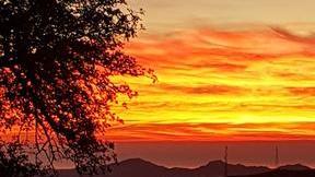 Sunrise over Bédar