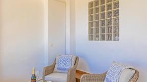 The Suite de Mar private balcony
